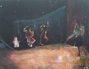 Jump! - Clay Hosmann Art