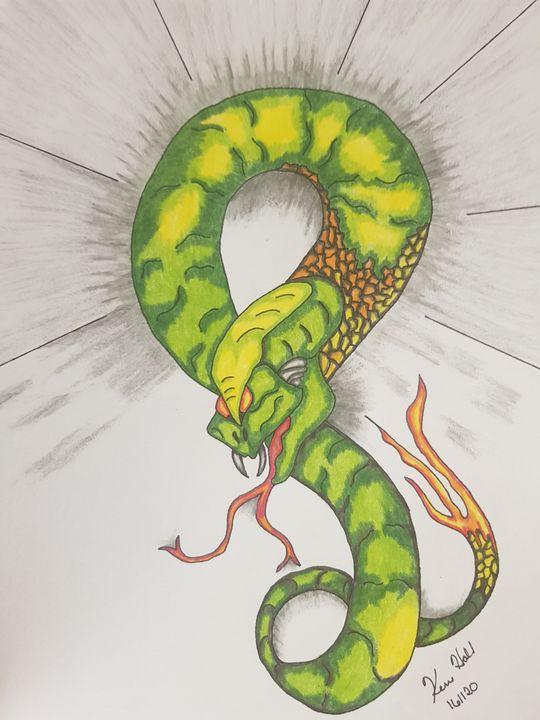 Mythical Snake - K & N Design