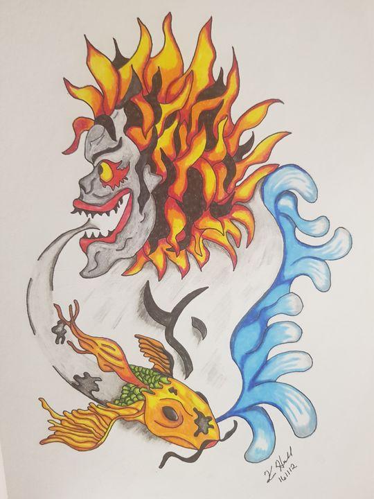 Demon's Breath - K & N Design