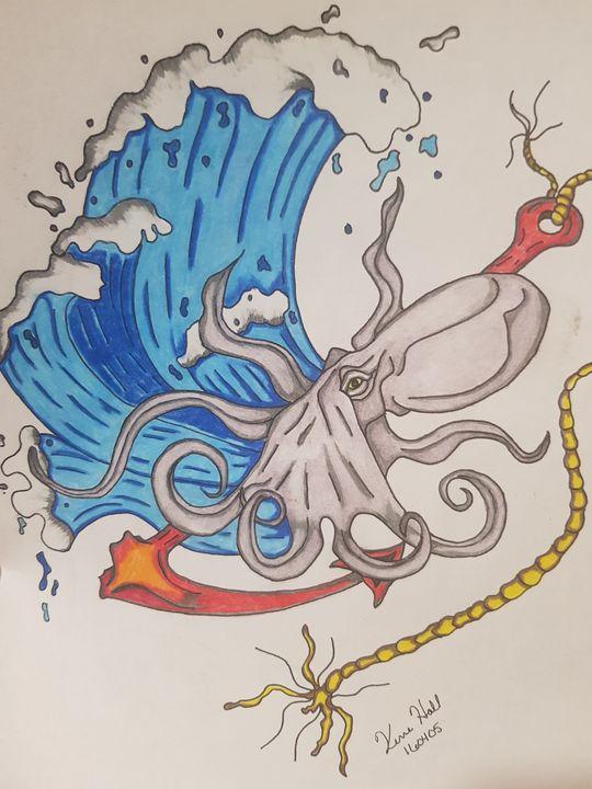 Squid Waves - K & N Design
