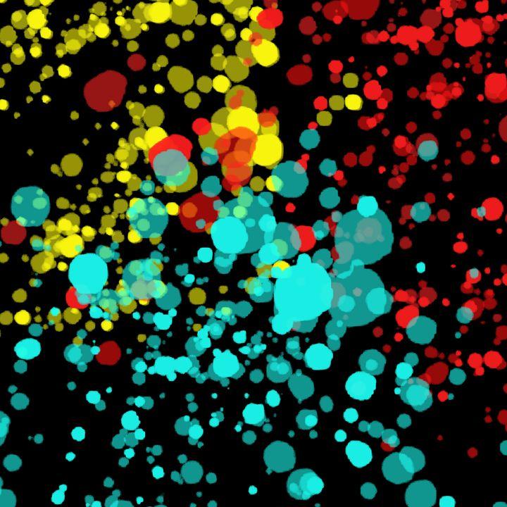 Bubbly Color - Custom Art Decor