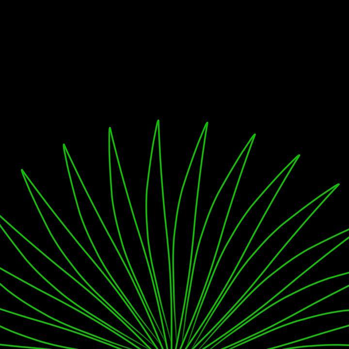 Green Plant - Custom Art Decor