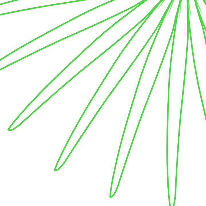 White Green - Custom Art Decor