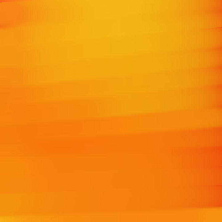Sun Orange - Custom Art Decor