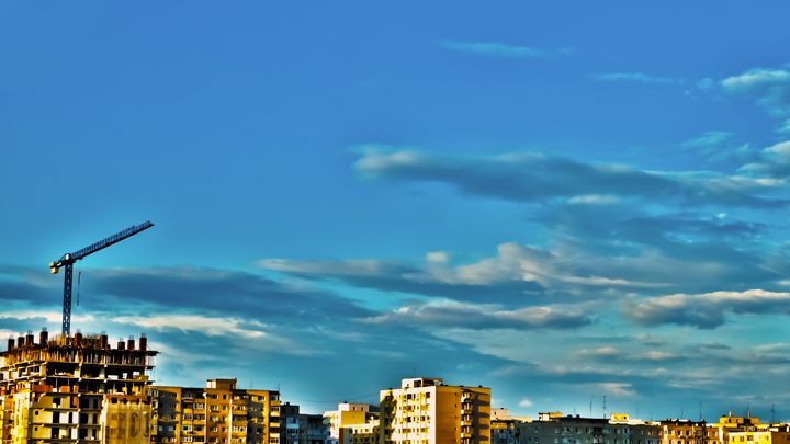 Crane On Skyline - Bogdan Dumitrescu