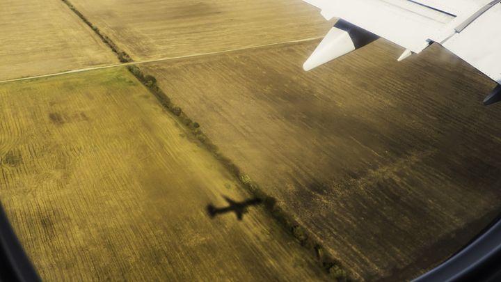 Airplane Shadow - Bogdan Dumitrescu