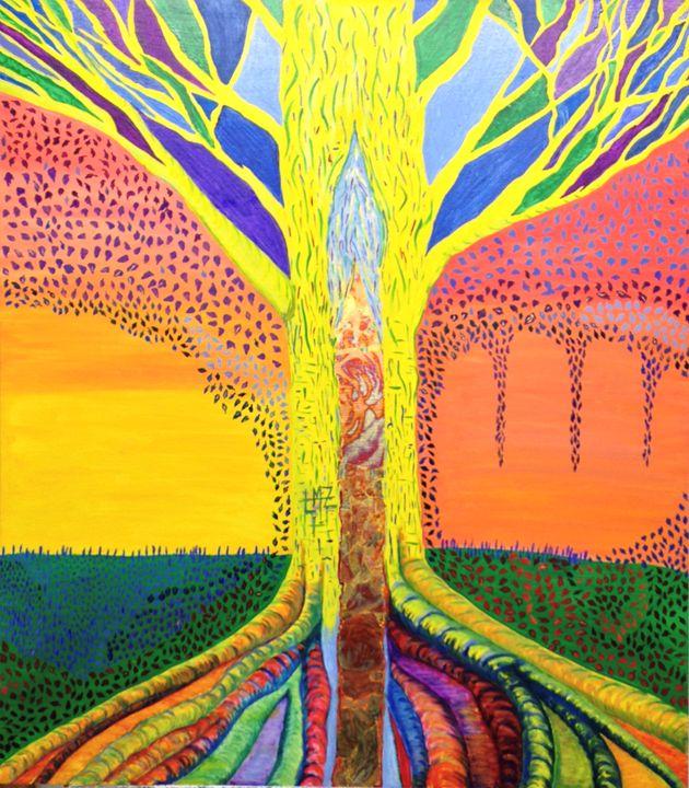Universal NRG - Meditation Tree - Lisa Zilker