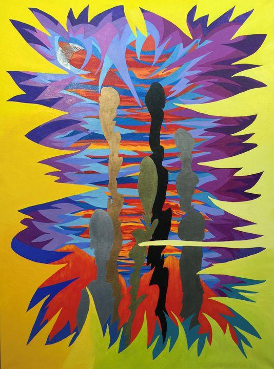 Firery Sky - Lisa Zilker