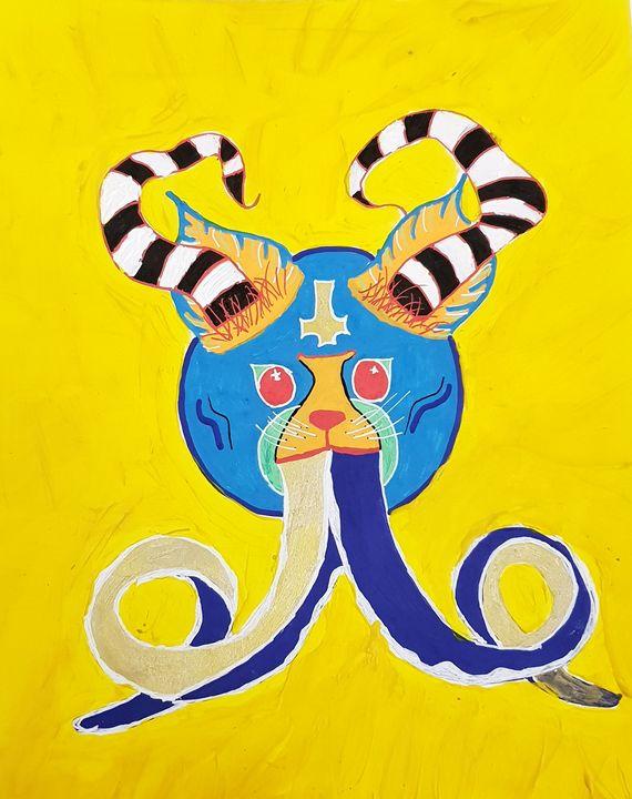 Octopus Cat - Petra the alien