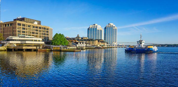 Halifax Harbour, Nov Scotia - R. Tony Bremner Photography