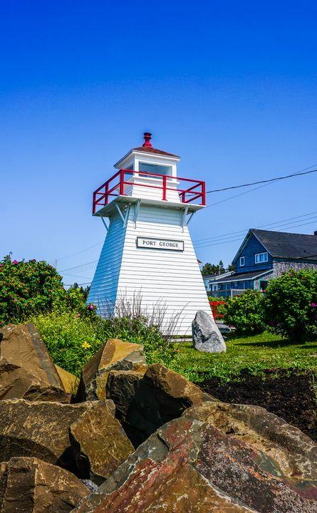 Port George Lighthouse, Nova Scotia - R. Tony Bremner Photography