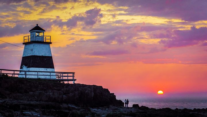 Lover's Sunset - R. Tony Bremner Photography