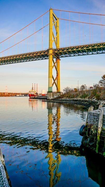 A. Murray MacKay Bridge - R. Tony Bremner Photography