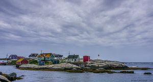 Before the Storm - Peggy's Cove