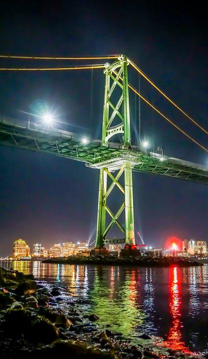 Angus L. Macdonald Bridge - R. Tony Bremner Photography