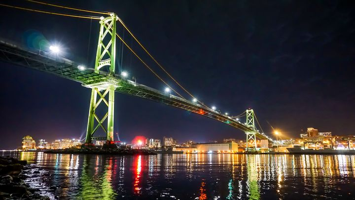 Angus L. Macdonald Bridge - R. Tony Bremner Photography