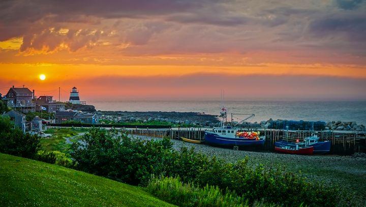 Margarettsville Sunset - Nova Scotia - R. Tony Bremner Photography