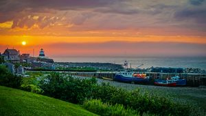 Margarettsville Sunset - Nova Scotia