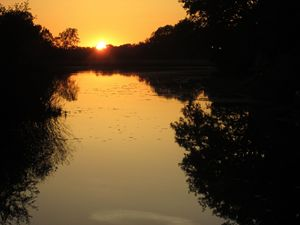 Water Reflection Sunset