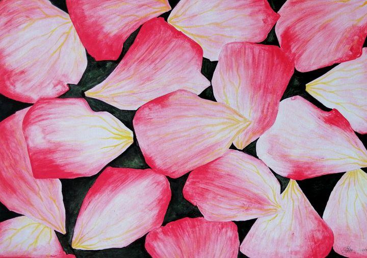 Rose petals - Artist navi