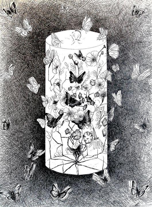 Orchid the tall glass - Artist navi