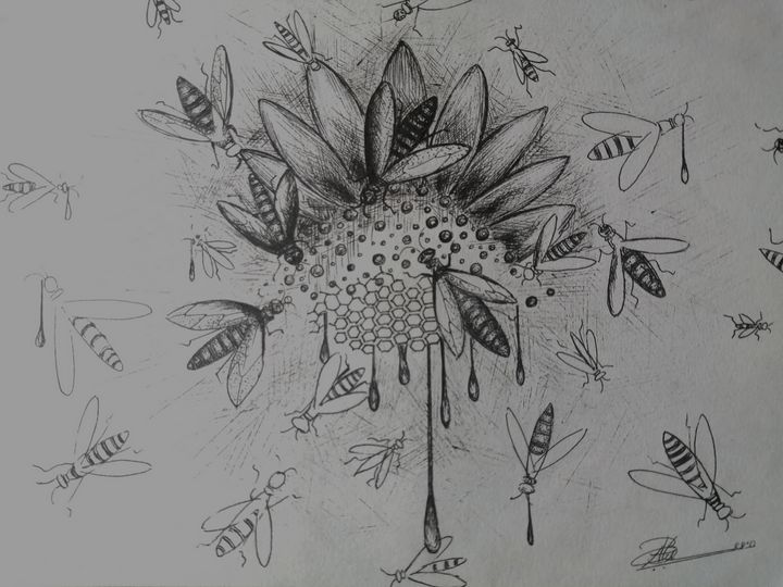 honey bee - Artist navi