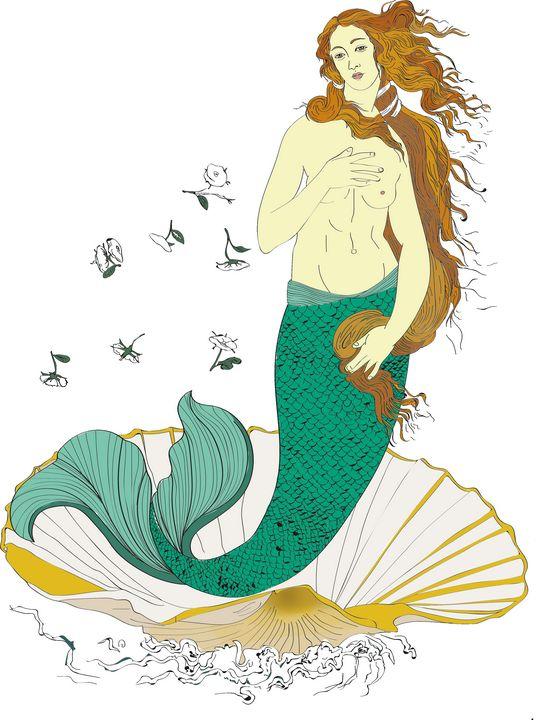 Venus was a Mermaid - JMP ART