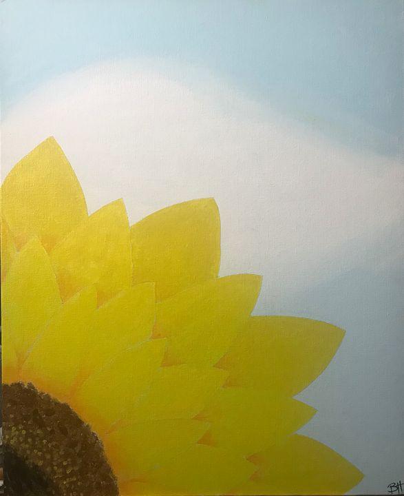 The Sunflower - Burk's Art