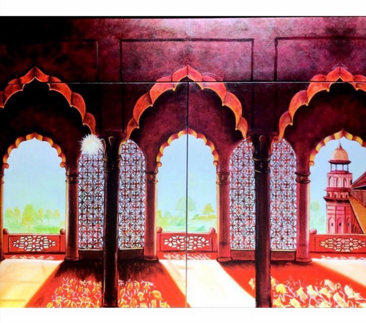 Agra fort - Canvasbysunita