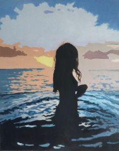 Sunset - My paintings
