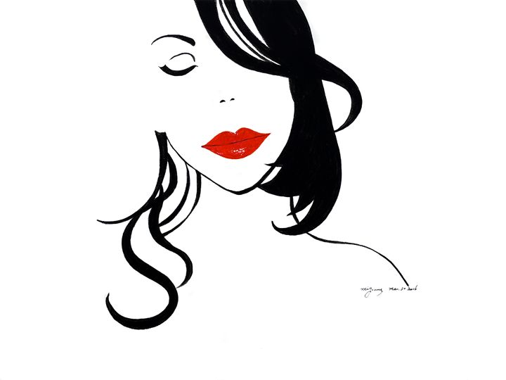 Red Lips - Mi Young's Gallery