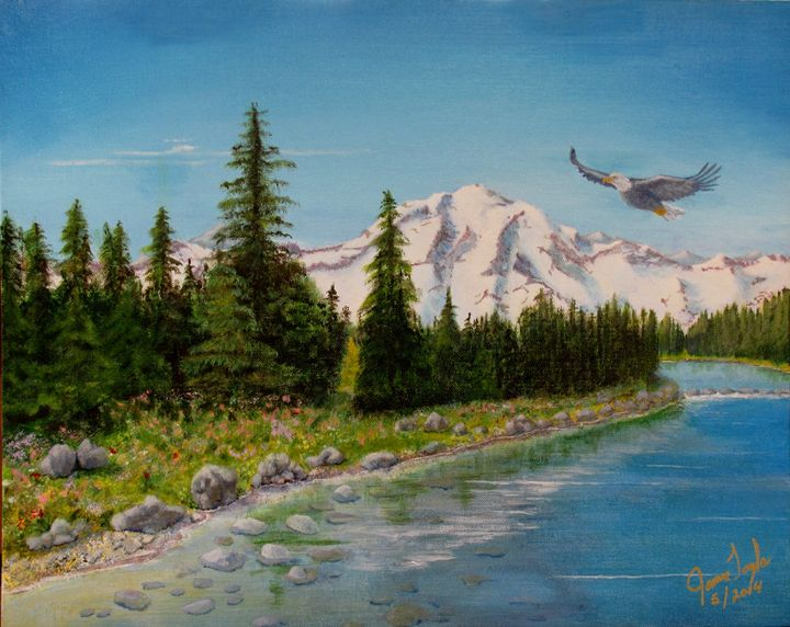 Eagle River  (New) - Art by JAMES B TAYLOR