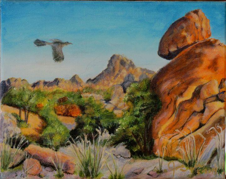 Texas Rocks  (NEW) - Art by JAMES B TAYLOR