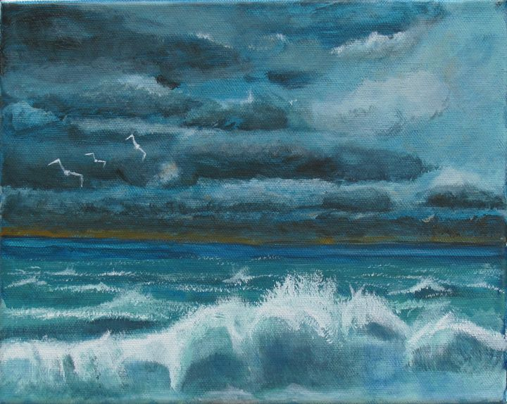 Stormy Surge - Art by JAMES B TAYLOR