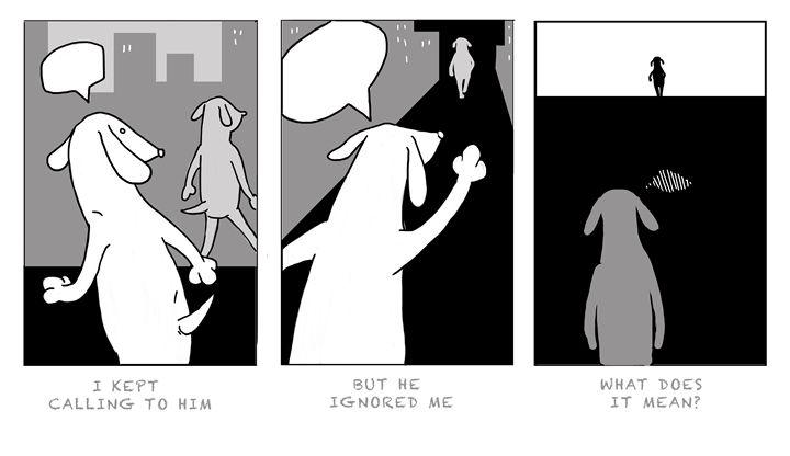 What does it mean? - Marija Piliponyte Illustration