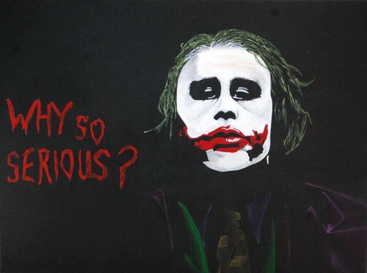 the joker - minor imperfections
