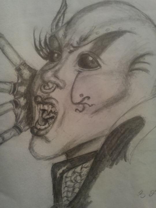 Vampire of Darkness - Daniel Ware's Art