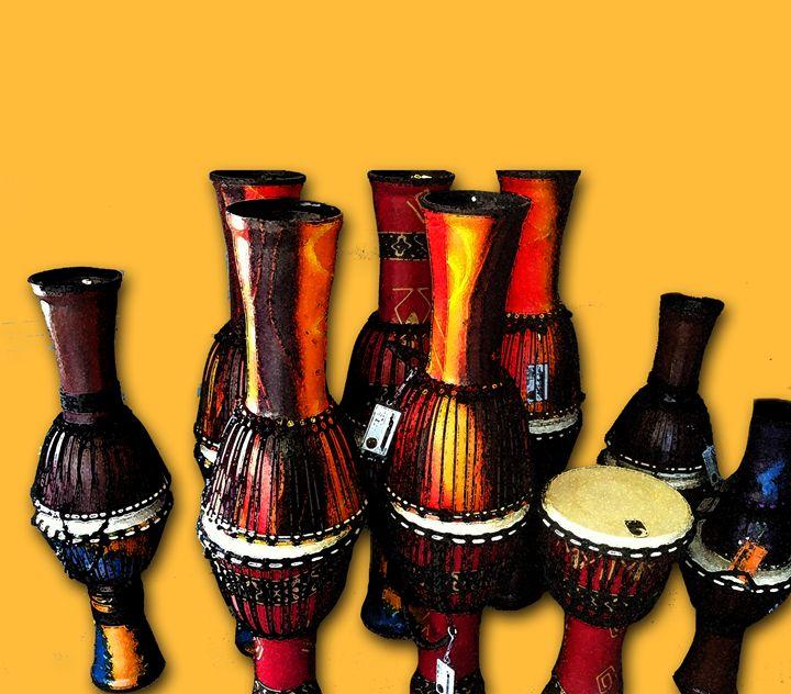 African Drums - Galsery Prints