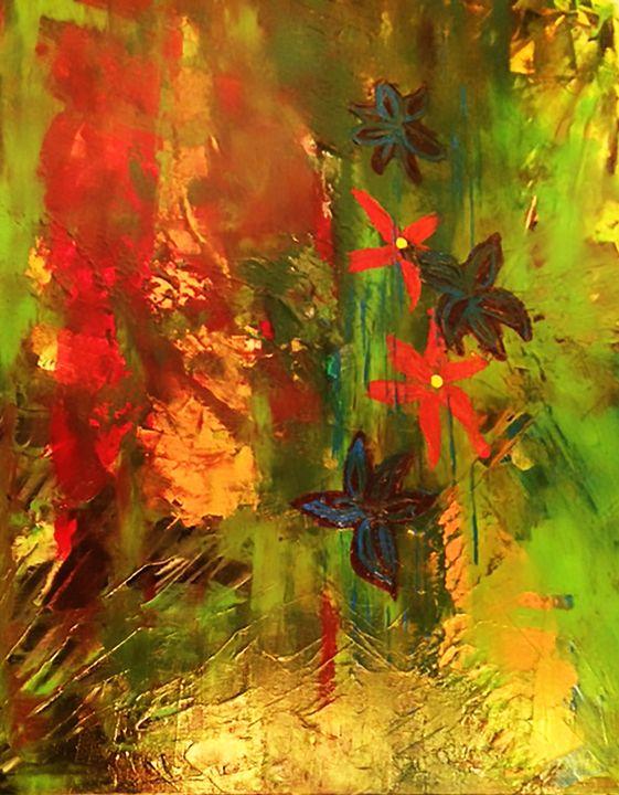 Jungle Flowers - Galsery Prints