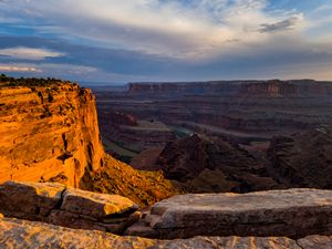 Evening at Dead Horse Point