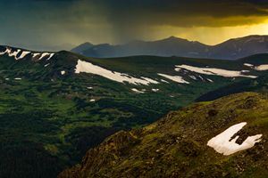 A Trail Ridge Sunset