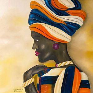 Rainha Nubiana- Nubian Queen