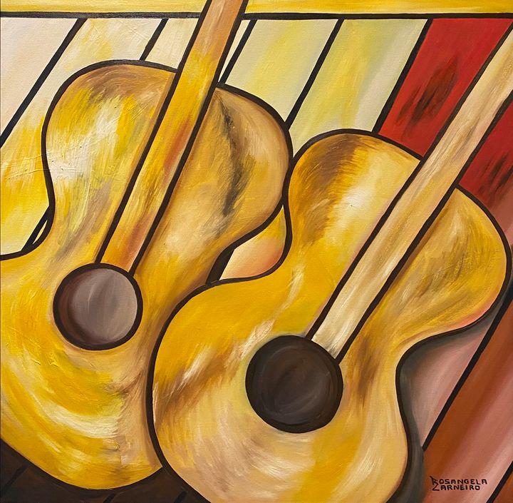 Dueling Guitar - Rosangela Carneiro