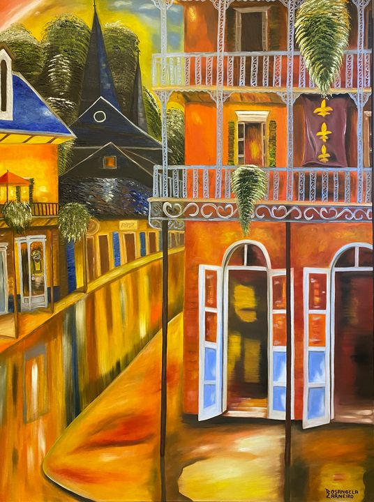Nova Orleans- New Orleans - Rosangela Carneiro