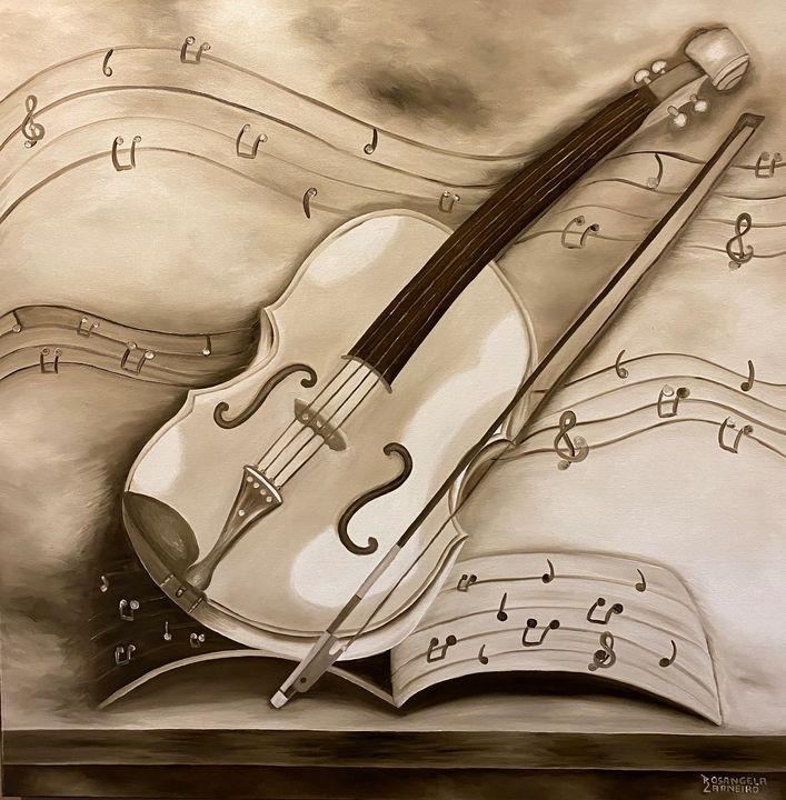 O Violão- The Violin - Rosangela Carneiro