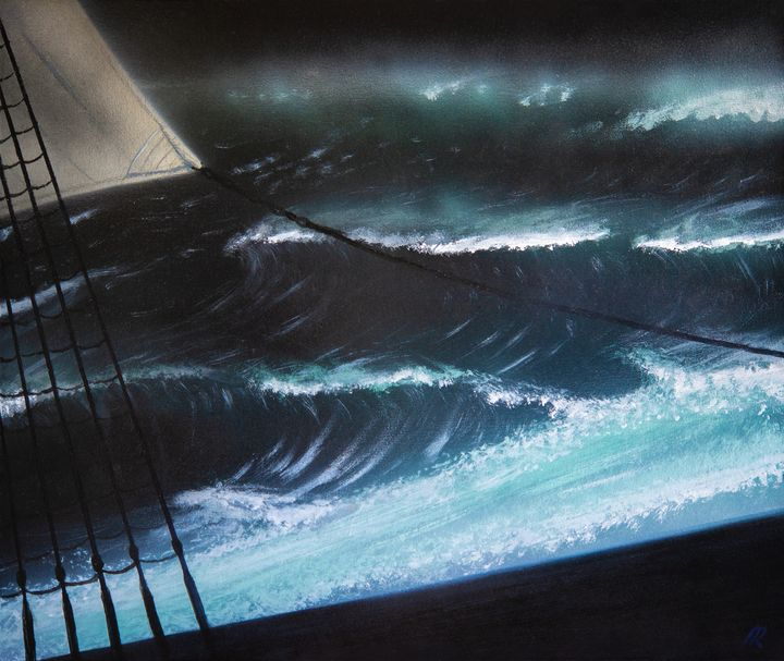 the southern ocean by night - Douglas Robertson