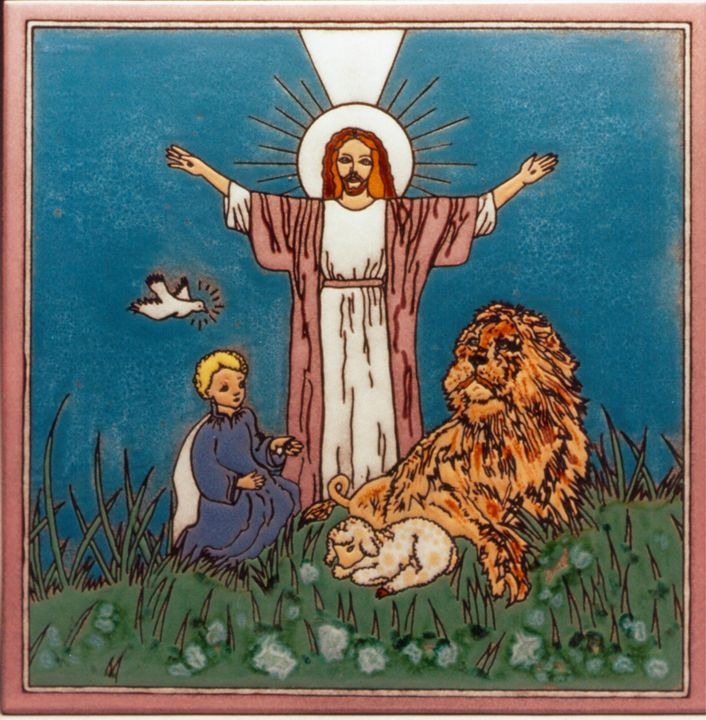 Jesus Christ the lion and the lamb - gg