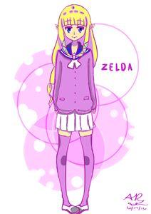 Purple Zelda