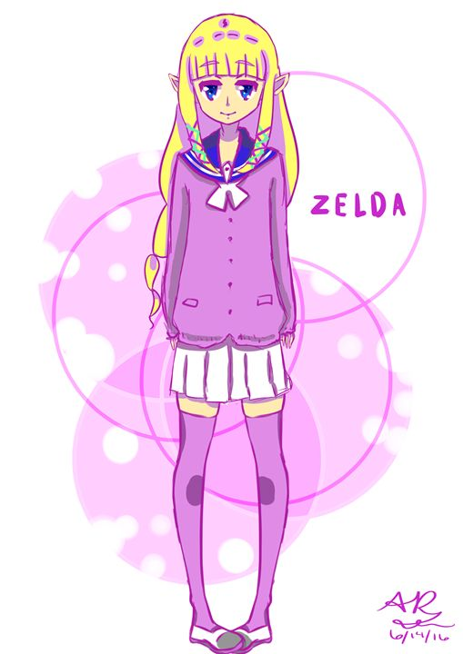 Purple Zelda - A.R. Shooting Star