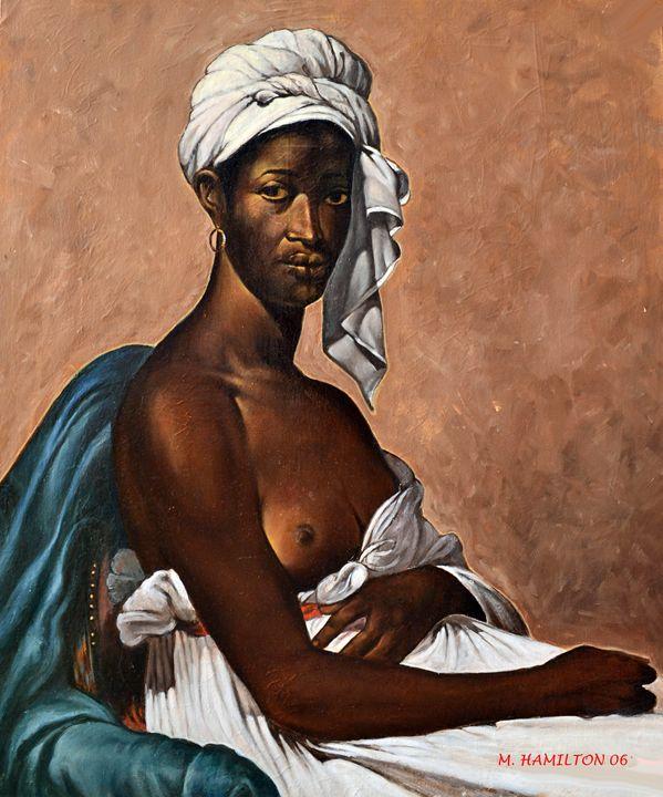 PORTRAIT OF A BLACK WOMEN - MONTY